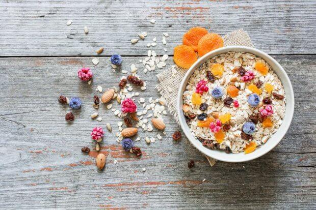 recept voor fruitige muesli