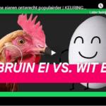 Zijn bruine eieren gezonder dan witte eieren?