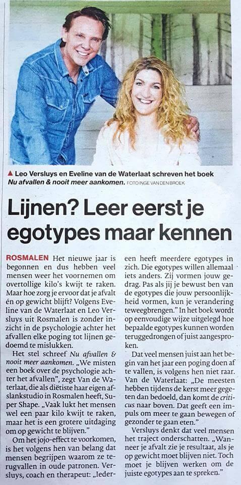 Nu afvallen en nooit meer aankomen Brabants dagblad