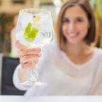 Gin tonic zonder suiker en alcohol